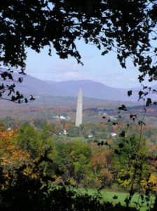 Bennington Battle Monument in Autumn