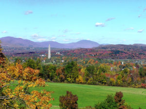 iew from Southern Vermont College