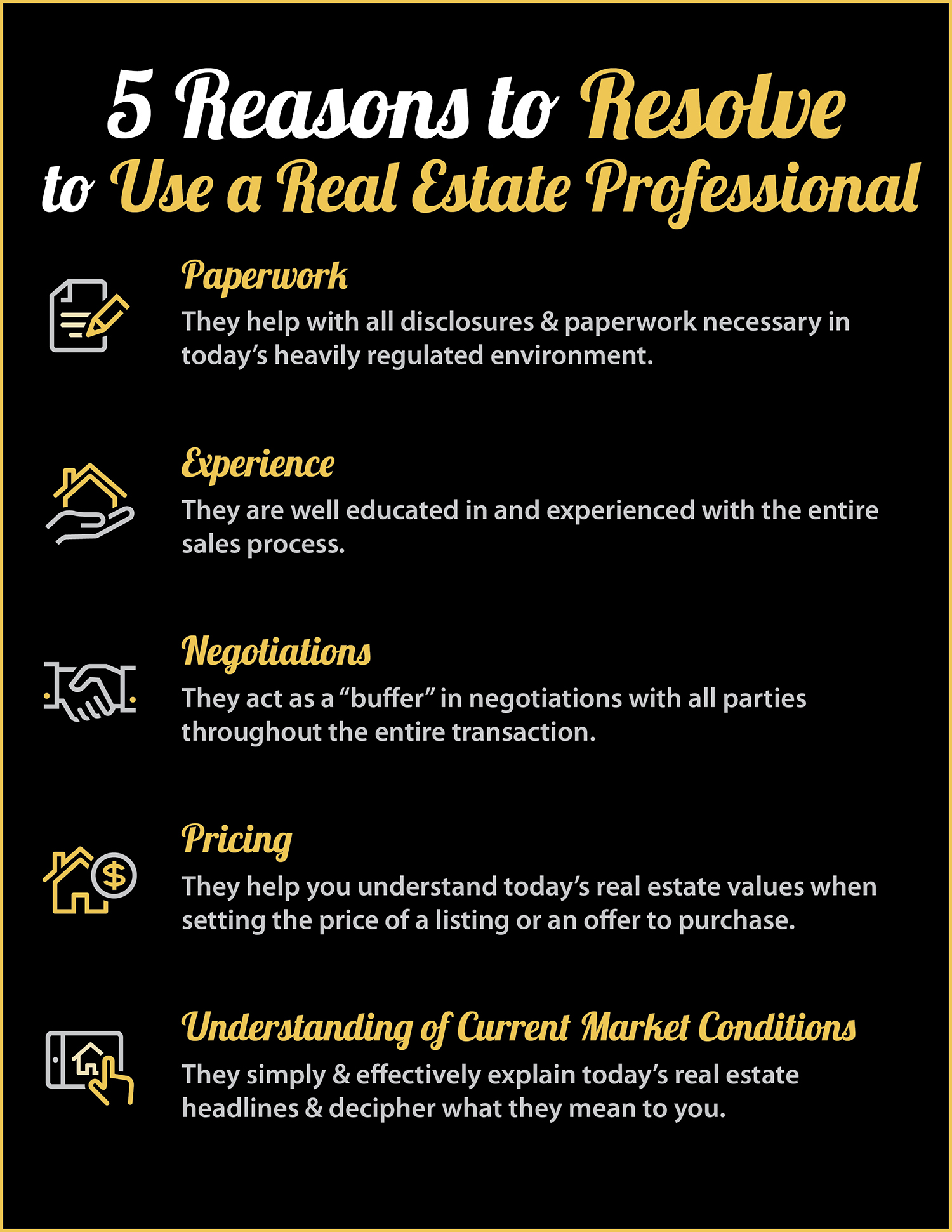 Buying or Selling in 2018? 5 Reasons to Resolve to Hire a Pro [INFOGRAPHIC] | Simplifying The Market