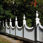 Old Bennington Church Fence