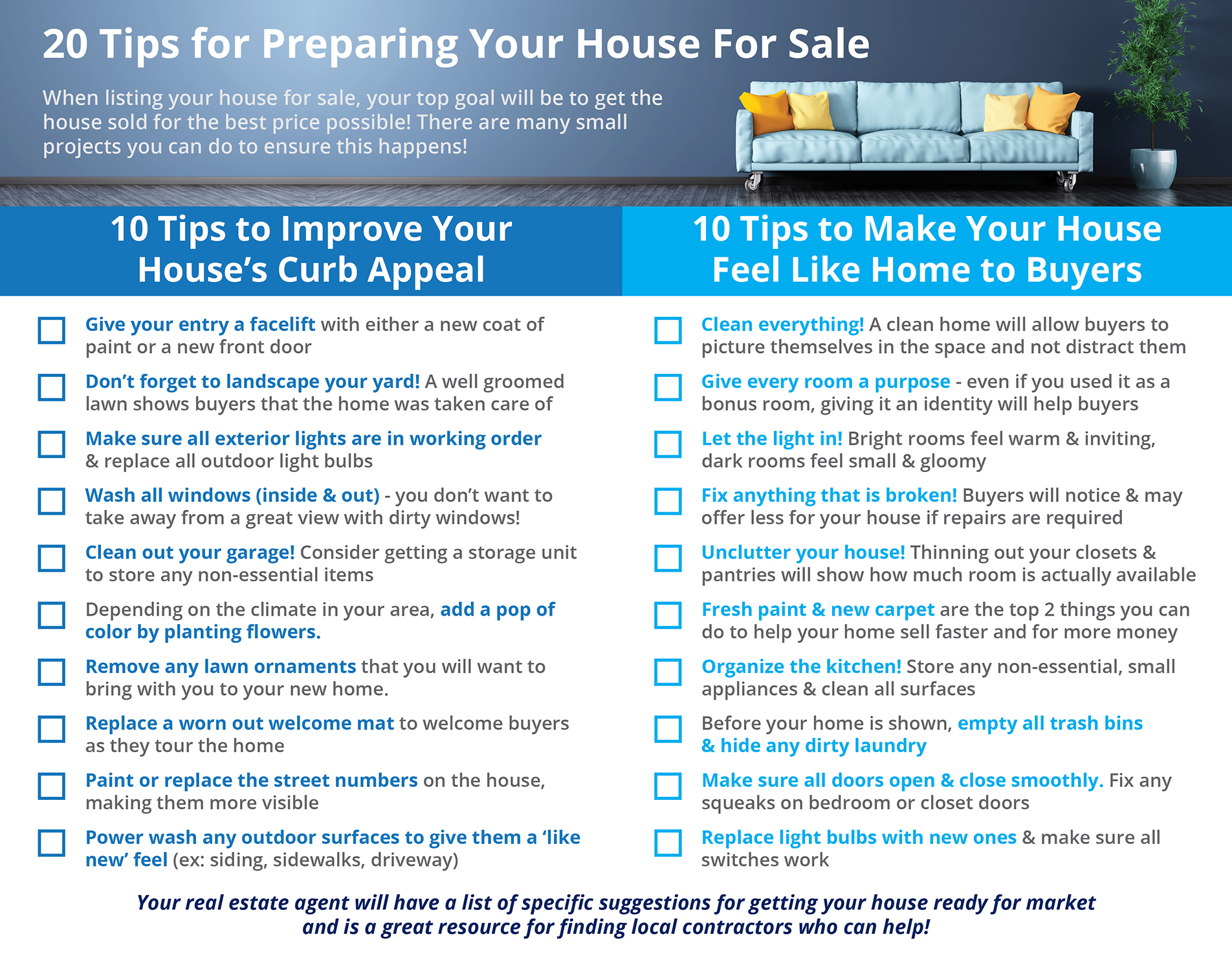 Tips for Preparing Your House for Sale This Spring [INFOGRAPHIC] | Simplifying The Market