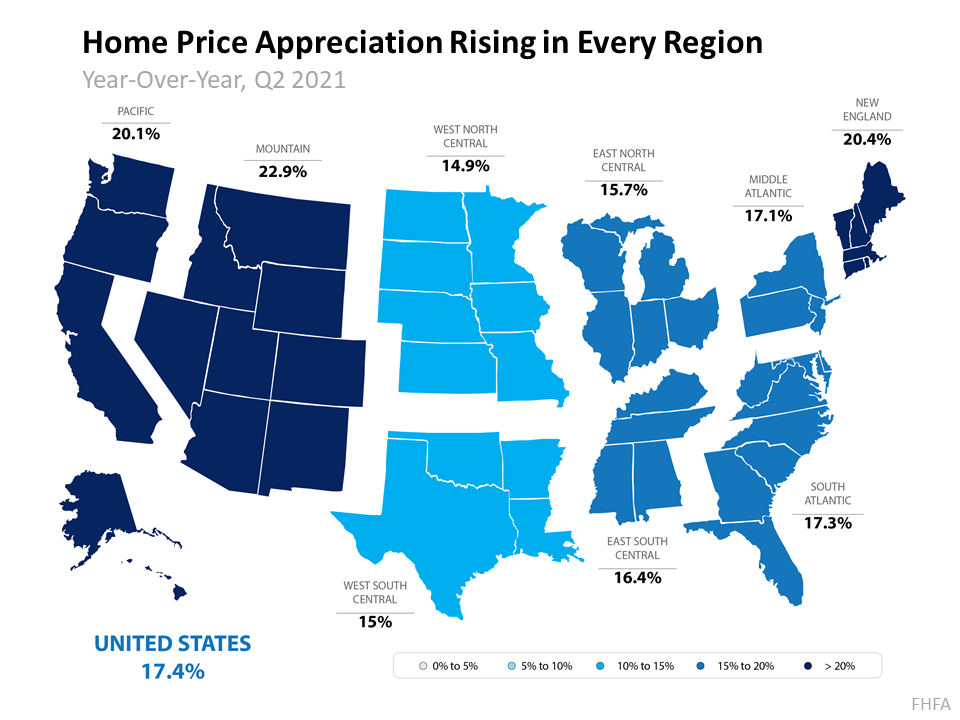 Home Price Appreciation Is Skyrocketing in 2021. What About 2022? | Simplifying The Market
